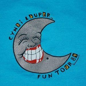 lauper tour shirt