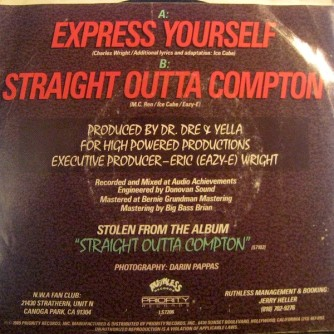 express yourself b side