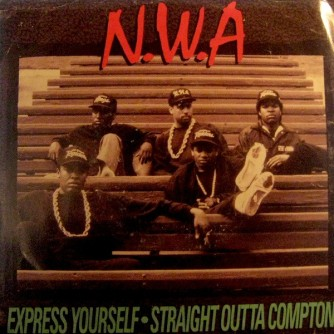 "7"" release of Express Yourself"