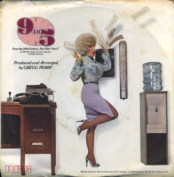 Dolly parton 9 to 5 album cover
